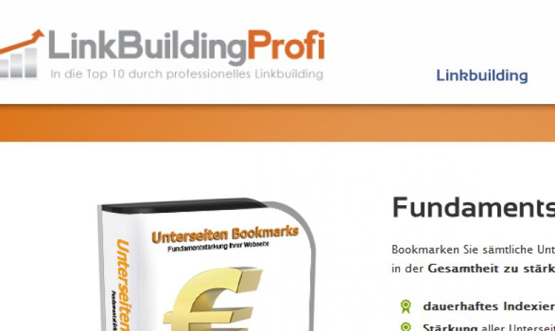 Linkbuilding Profi